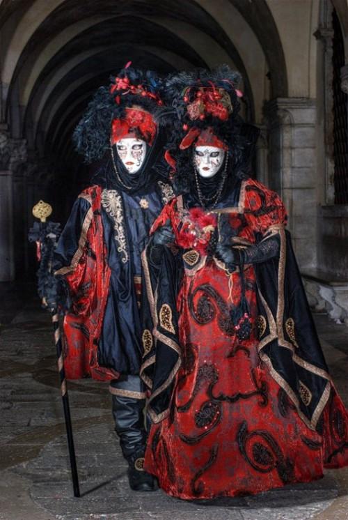 Pre-Lenten Carnevale in Italy