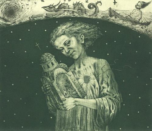 Ecclesiastes. Drypoint etching