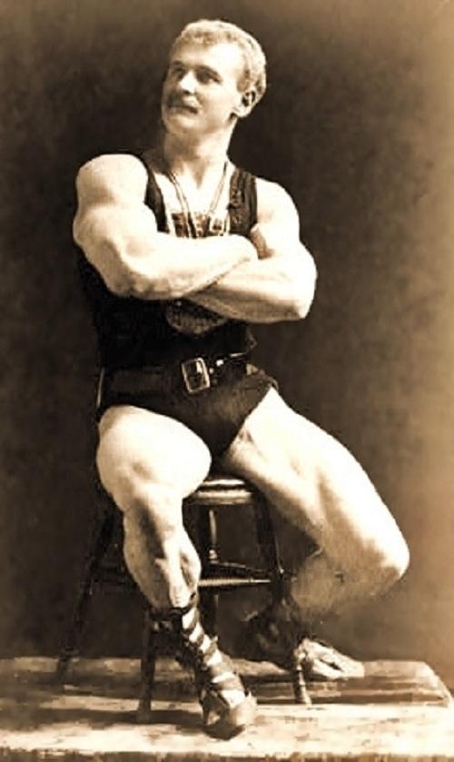 Eugen Sandow (1867-1925), photo from Wikipedia