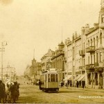 First trams in Vladivostok