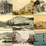 Collage of Vladivostok at the turn of the 19th century and early 20th century