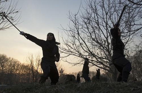 Iranian women Ninja