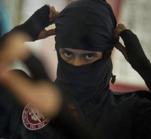 Iranian female Ninjas