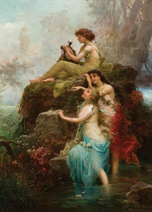 Paintings by Hans Zatzka
