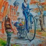 Painting by Ukrainian artist Vladimir Tarasenko