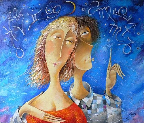 paintings by Yuri Matsik