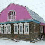 And this is the house of Yevgeny Muratov, son of woodcarver Konstantin Muratov