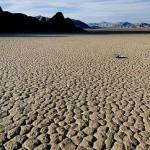 Fun art. Stones of Death Valley