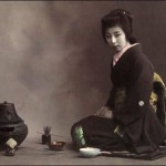 Stunning and mysterious Japanese Geisha