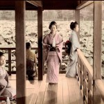 Elegant and beautiful women known as Geisha