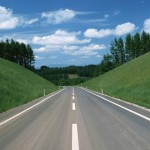 Let your life be like this road - long and smooth