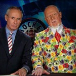 Canadian ice-hockey commentator Don Cherry and his jackets
