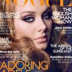 Cover girl Adele
