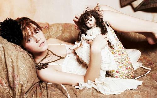 English actress and model Emma Watson