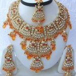 Traditional Indian jewellery decorations