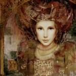 Markus's feminine figures evoke the stylized beauty of Botticelli's Venus