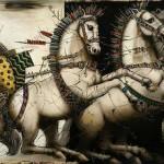 painting by Hungarian artist Csaba Markus