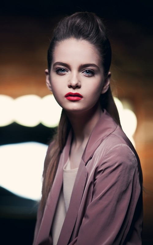 Alina Zolotykh, a young Russian model