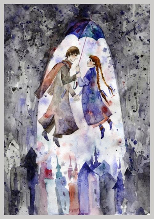 Painting by Elena Senichenko