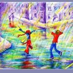 Painting by Ukrainian artist Elena Senichenko