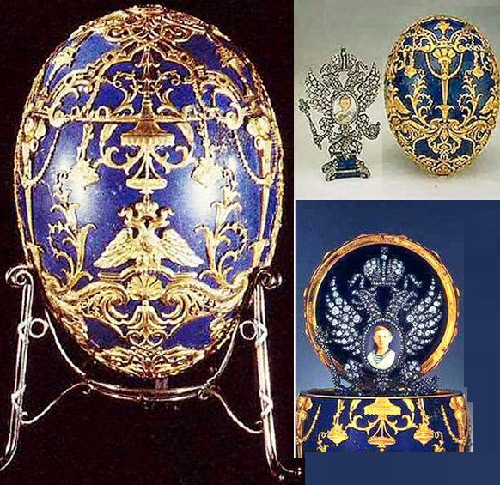 Masterpieces of jewellery art - Faberge eggs