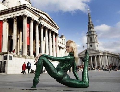Russian Snakewoman Zlata