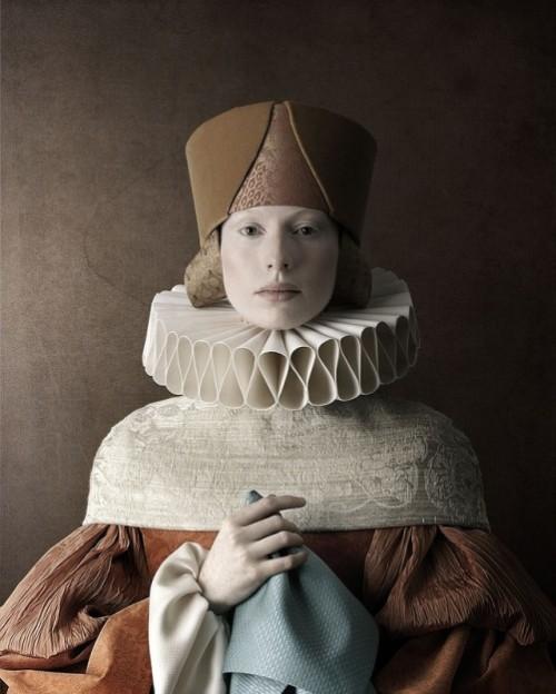 1503, Cecilia. Photoart by Christian Tagliavini