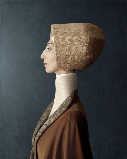 1503, Donna Clotilde - Lady Clotilde. Photoart by Christian Tagliavini