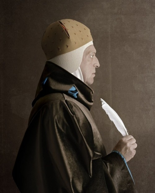 1503, Ritratto d'uomo. Portrait of a man. Photoart by Christian Tagliavini