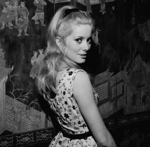 Catherine Deneuve and Cannes Film Festival