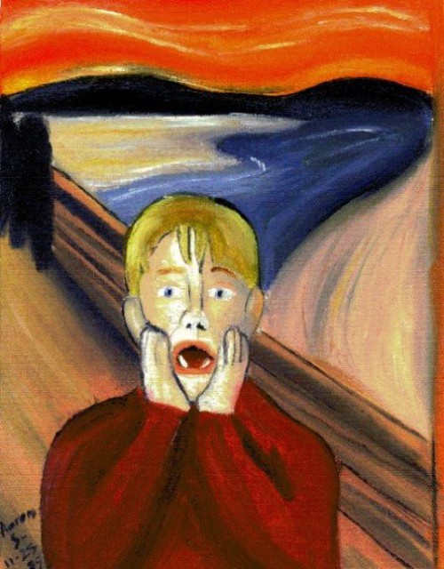 Oil Painting     Parody of Edvard Munch   s    The ScreamThe Scream Edvard Munch Parody
