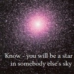 Know you will be a star