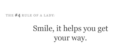 Smile, it helps you