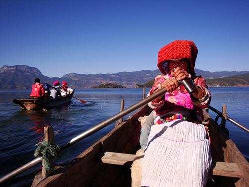 Tribe Mosuo, China
