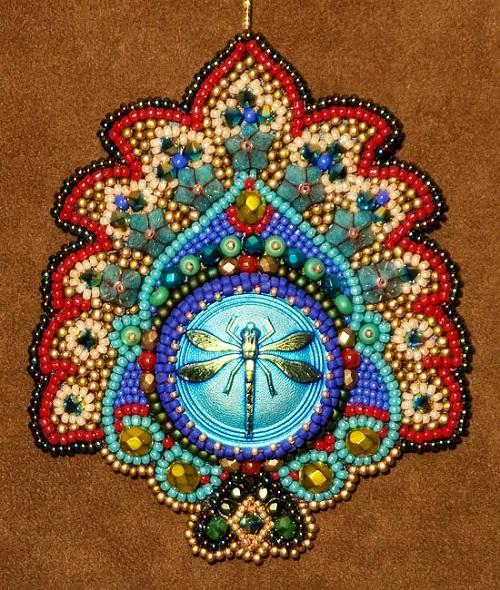 bead work by Robin Atkins