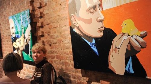 A man with a heart of gold. The exhibition of artist Alexei Sergiyenko