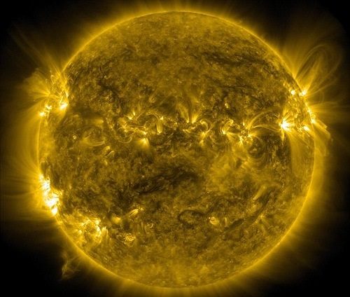 Action hotting up: Activity on the sun will peak next year