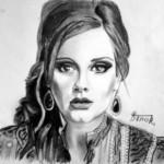 Adele Portrait by Ronib