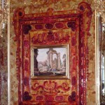 Panels with amber mosaics
