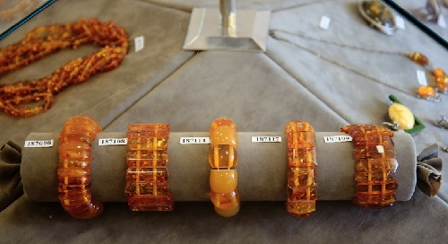 Amber bracelets, they say - have medical properties