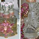 Antique perfume bottles