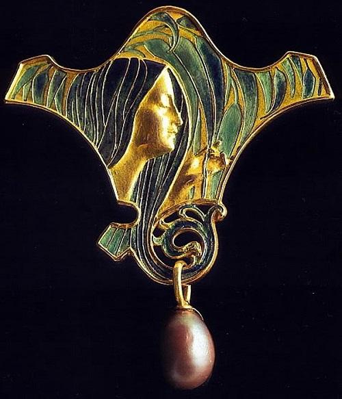 Jewellery designer Rene Lalique