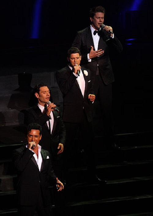 International operatic pop vocal group IL Divo in Sydney (2012)