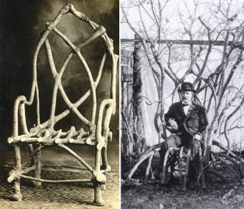 The Chair That Grew. Growing Architecture