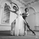 Ballet Dancers Maria Semenyachenko And Semen Dudin, Moscow. Nomination 'Style' of 2011 Best Photographs of Russia