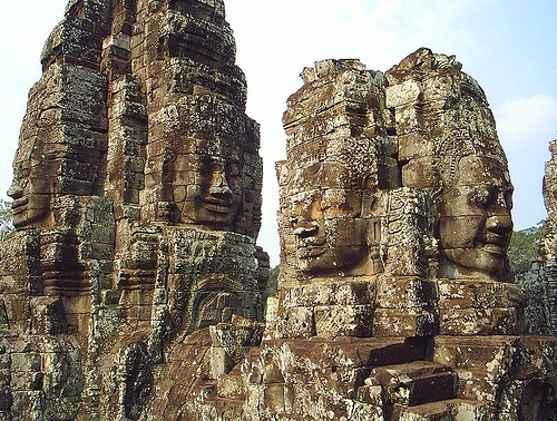 The Bayon and Khmer art