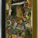 Historical events, life of people and Book carving by British artist Alexander Korzer-Robinson