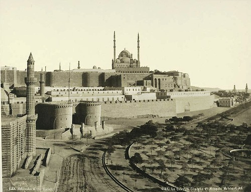 Cairo Fortress and Mosque Mohammed Ali Pasha. Egypt 1870