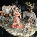 Capodimonte Finest Porcelain figurines
