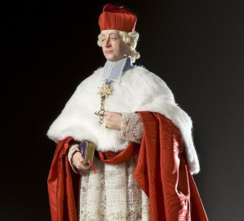 Cardinal Louis de Rohan. French Historical Figures by American artist George S. Stuart